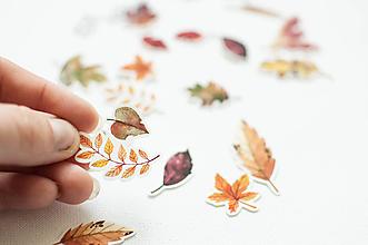 "Papier - Maľované nálepky "" jeseň"" - 11127762_"