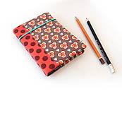 Papiernictvo - Zápisník Geometrické kvietky - A6 - 11127371_