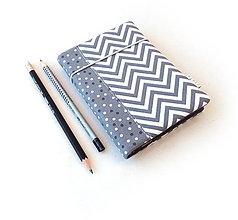 Papiernictvo - Zápisník Cik-cak a bodky - A6 - 11127321_
