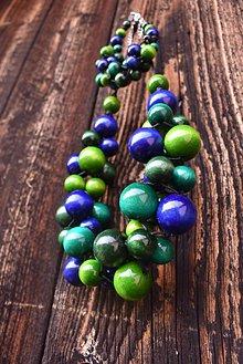 Sady šperkov - Blueberry Mojito sada 2v1 - 11126768_