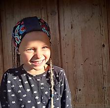 Detské doplnky - ČELENKA - uchokrytka - 11129363_
