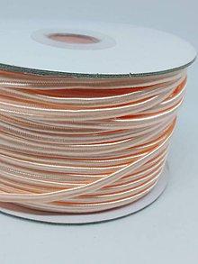 Galantéria - Šutaška - 100% nylon - 1m (Lososová A 107) - 11128864_