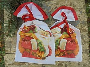 Úžitkový textil - Vrecko na darčeky-Mikulášske alebo Vianočné... - 11128753_
