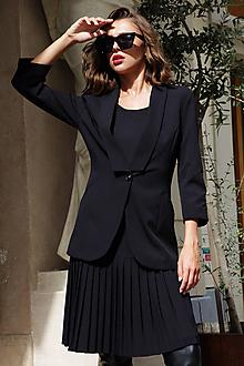 Kabáty - Elegantné sako Christien - 11131593_