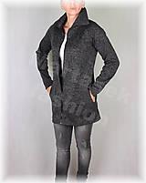 Mikiny - Kabátek hřejivý s límcem(více barev) - 11131761_