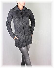 Mikiny - Kabátek hřejivý s límcem(více barev) - 11131760_