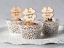 Dekorácie - Zápichy na cupcake pre deviatakov - 11132469_