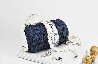 Polotovary - Set na výrobu kabelky /batoha Natur jeans - 11131335_