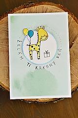 Papiernictvo - Krásny deň od Žirafy - 11131342_