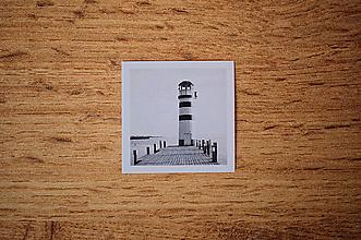 Papiernictvo - Fotonálepka - Maják - na zápisník DENNÉ ZÁPISKY - 11131095_