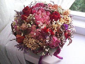 """Dekorácie - Prírodná dekorácia """"...jesenný košík..."""" - 11133510_"""