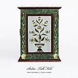 Krabičky - Ručne maľovaná skrinka na kľúče - 11130311_