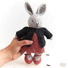 """Hračky - zajka """"Lora"""" - 11132609_"""