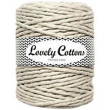 Galantéria - Macrame špagát 5 mm (100m) - Lovely Cottons - 11132051_
