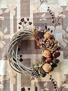 Dekorácie - Jesenný veniec - 11130732_