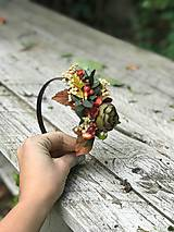 Ozdoby do vlasov - Jesenná čelenka... Na želanie  - 11132568_
