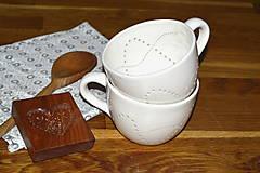 Nádoby - Madeirová porcelánová maxi šálka - 11132648_