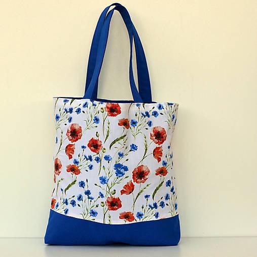 Makovo-čakanková nákupná taška