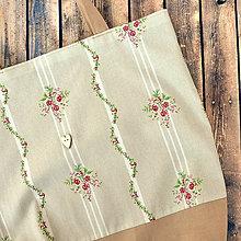 Nákupné tašky - Folk nákupná taška - 11132621_