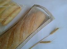 Úžitkový textil - Vrecúško na chlieb Dlháň (22x51 cm) - 11132595_
