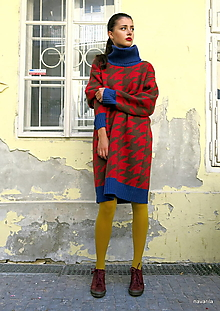 Svetre/Pulóvre - svetrošaty MAXIM -vzor pepito,unisize - 11132394_