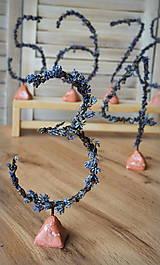 Drobnosti - Levanduľové čísla na stôl - 11130935_