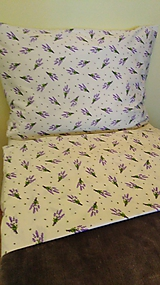 Úžitkový textil - Obliečky Ľevandula - 11132319_