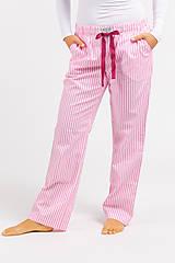 Pyžamy a župany - Laggar dámske pyžamové nohavice (Bledomodrá L) - 11130524_