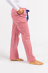Pyžamy a župany - Laggar dámske pyžamové nohavice (Bledomodrá L) - 11130526_