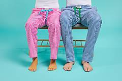 Pyžamy a župany - Laggar pánske pyžamové nohavice - 11131278_