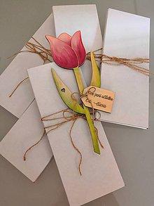 Drobnosti - Tulipán (personalizované) - 11130249_