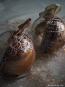 Dekorácie - ROSE GOLD vianočné guľe s 3D fotkou - 11133154_