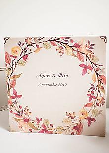 "Papiernictvo - Svadobný scrapbook album "" Agnes "" - 11131459_"