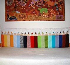 Úžitkový textil - Zástena Ceruzky tenká - 11130309_