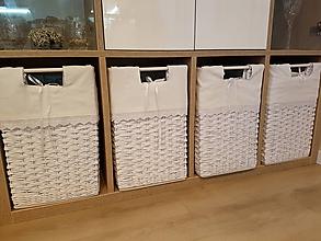 Košíky - Snehové šatníkové koše / ks - 11132393_