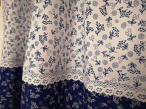 Úžitkový textil - Vidiecka záclonka - 11137020_