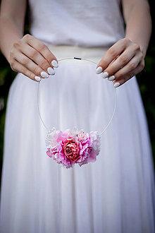 """Náhrdelníky - Náhrdelník""""vôňa karafiátu"""" - náhrdelníky - 11136553_"""