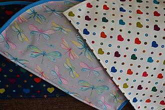 Detské oblečenie - MOJA KAPSA - s odopínateľ.flisom a oblúkovým vreckom - 11135412_