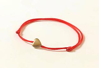 Náramky - náramok srdce - 11134782_