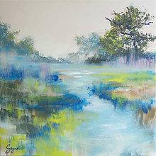 Obrazy - modré vody - 11134808_
