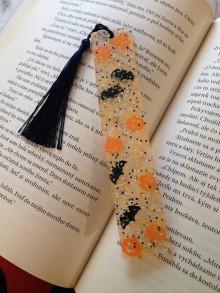 """Knihy - Záložka ,,Halloween 1"""" - 11134316_"""