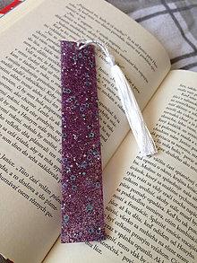 """Knihy - Záložka ,,violet"""" - 11134328_"""