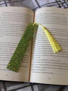 """Knihy - Záložka ,,green"""" - 11134368_"""