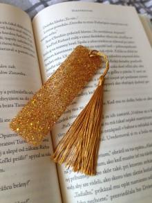 "Knihy - Záložka ,,gold"" - 11134436_"