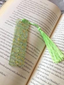 "Knihy - Záložka ,,light green"" - 11134442_"