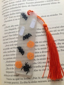 """Knihy - Záložka ,,halloween2"""" - 11134448_"""