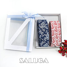 Doplnky - Darčekový balíček - kazeta - set pánskych kravát - 11136283_
