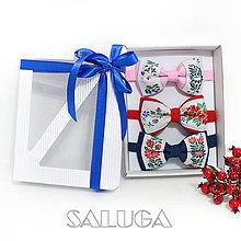 Doplnky - Darčekový balíček - kazeta - set motýlikov - 11136318_