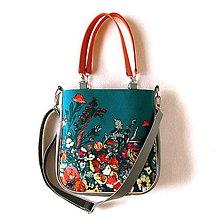 Kabelky - Big Sandy - S farebnými kvetmi - 11135650_
