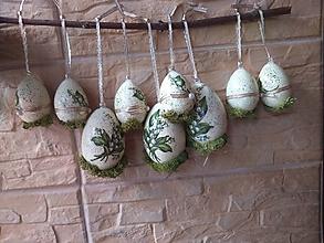 Dekorácie - Konvalinkové vajíčka - 11134590_